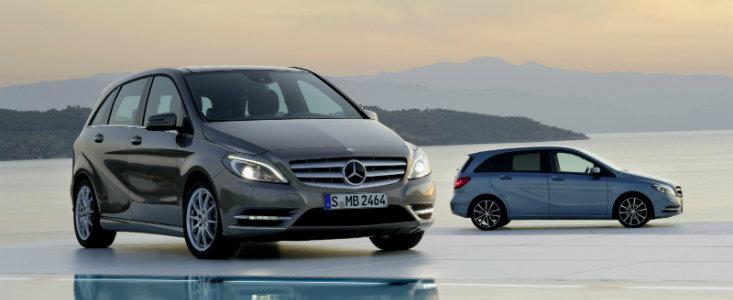 OFICIAL: Mercedes dezvaluie noua generatie a modelului B-Class