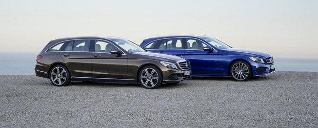 OFICIAL: Mercedes dezvaluie noul C-Class T-Modell. GALERIE FOTO si VIDEO