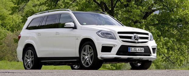 OFICIAL: Mercedes dezvaluie noul GL63 AMG!
