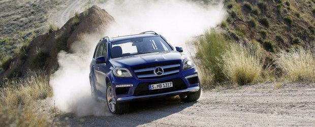 OFICIAL: Mercedes ne face cunostinta cu noul GL-Class