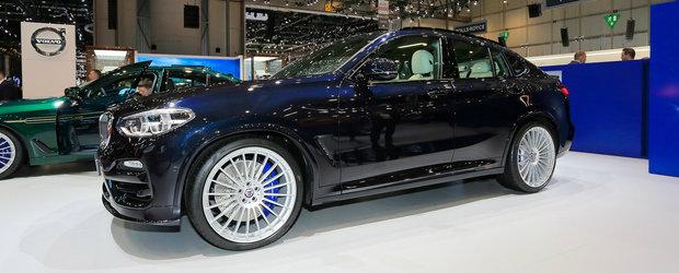 OFICIAL: Noul Alpina XD4 este un BMW X4 cu motor diesel in sase cilindri si... patru turbine. POZE REALE
