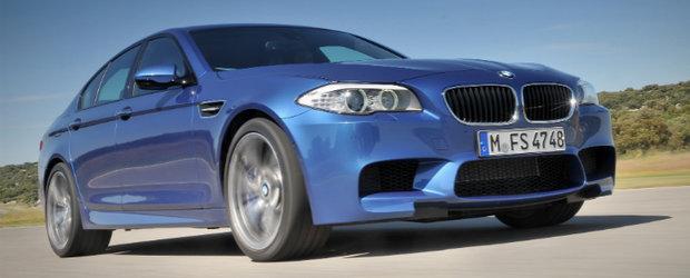 OFICIAL: Noul BMW M5 vine cu 560 cai putere, atinge peste 300 km/h!
