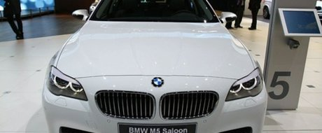 Oficial: Noul BMW M5 vine cu un V8 Twin Turbo sub capota!