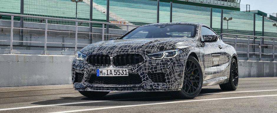 OFICIAL: Noul BMW M8 va avea peste 600 de cai putere si tractiune spate la buton