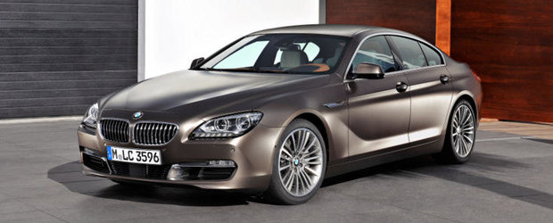 OFICIAL: Noul BMW Seria 6 Gran Coupe intra in scena!
