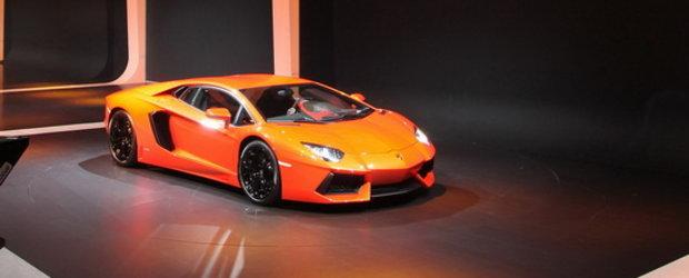 Oficial: Noul Lamborghini Aventador LP700-4 intra in scena!