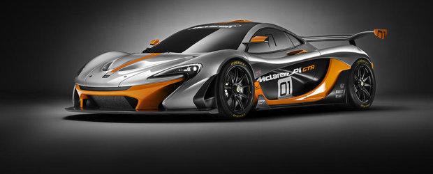 OFICIAL: Noul McLaren P1 GTR vine cu 1000 CP si un aspect pe masura