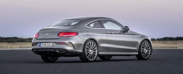 OFICIAL: Noul Mercedes C-Class Coupe este, in esenta, un mini-S-Class in doua usi