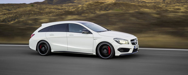 OFICIAL: Noul Mercedes CLA Shooting Brake e un CLS mai mic, cu pana la 360 CP