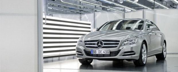 Oficial: Noul Mercedes CLS este mai sexy ca niciodata!