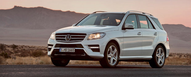 OFICIAL: Noul Mercedes ML intra in scena!