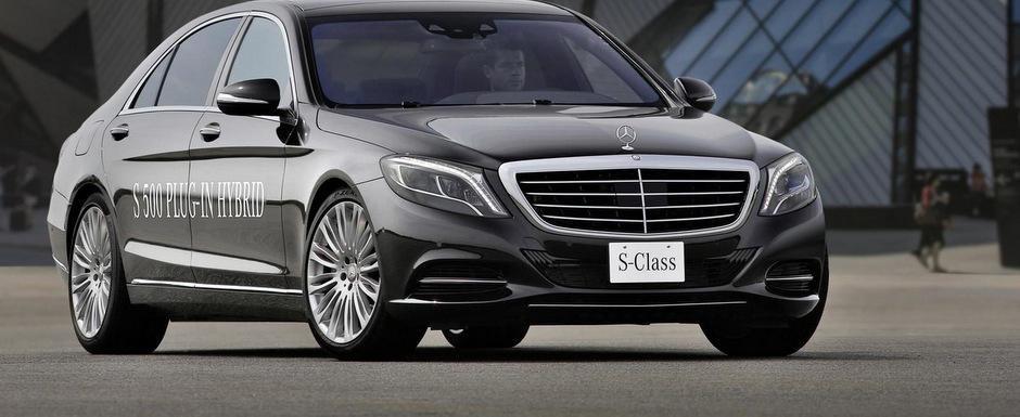 OFICIAL: Noul Mercedes S500 hibrid consuma doar 2.8 litri la 100 km