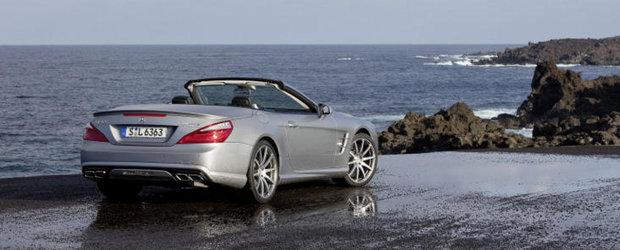 OFICIAL: Noul Mercedes SL63 AMG ofera pana la 564 CP si 900 Nm, cantareste 1.845 kg