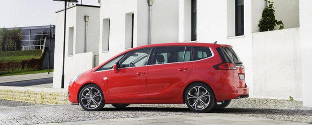 OFICIAL: Noul Opel Zafira Tourer BiTurbo este cel mai rapid compact diesel cu sapte locuri