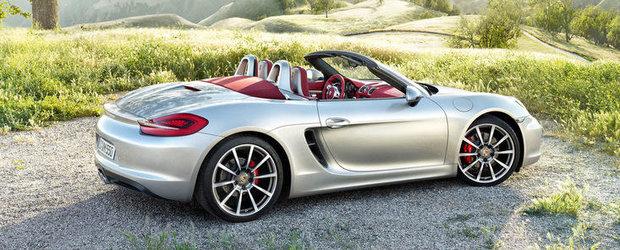 OFICIAL: Noul Porsche Boxster primeste un plus de putere, scapa de kilogramele nedorite