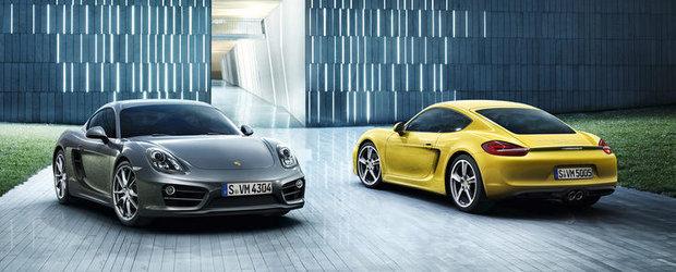 OFICIAL: Noul Porsche Cayman este mai usor, mai rapid si mai sexy ca niciodata!