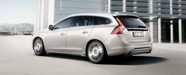 Oficial: Noul Volvo V60 Sports Wagon dezvaluit!