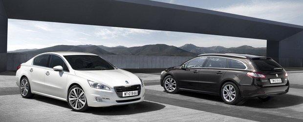 Oficial: Peugeot prezinta noul 508!