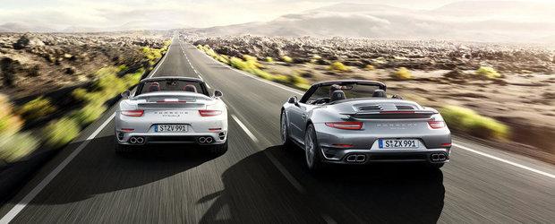 Oficial: Porsche dezvaluie noile 911 Turbo si 911 Turbo S Cabrio