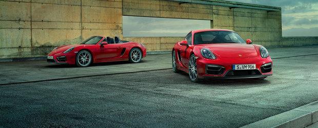OFICIAL: Porsche ne face cunostinta cu noile Boxster si Cayman GTS