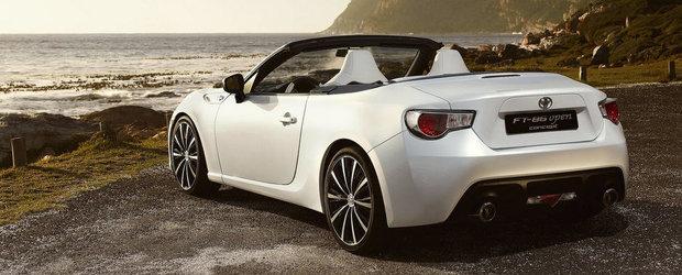 OFICIAL: Subaru pregateste un BRZ Convertible cu tractiune integrala si tren de rulare hibrid