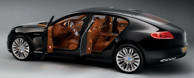 OFICIAL: Viitorul Bugatti Galibier promite peste 1.000 cai putere si 378 km/h