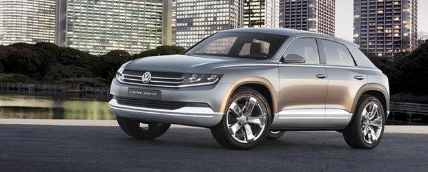 OFICIAL: Volkswagen dezvaluie noul Cross Coupe Concept!