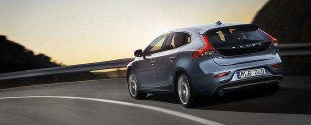 OFICIAL: Volvo dezvaluie mult-anticipatul V40