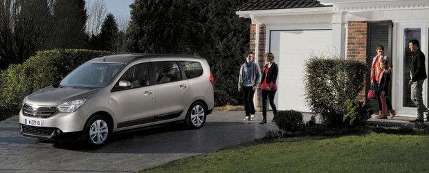 Oficiali Dacia: Lodgy nu va depasi ca vanzari modelele Logan si Duster