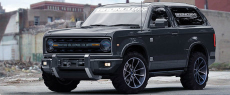 Oficialii Ford confirma in sfarsit noul Bronco