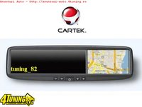 Oglinda Cartek Rvg43 Cu Gps Lcd 4 3 Touchscreen Bluetooth Games