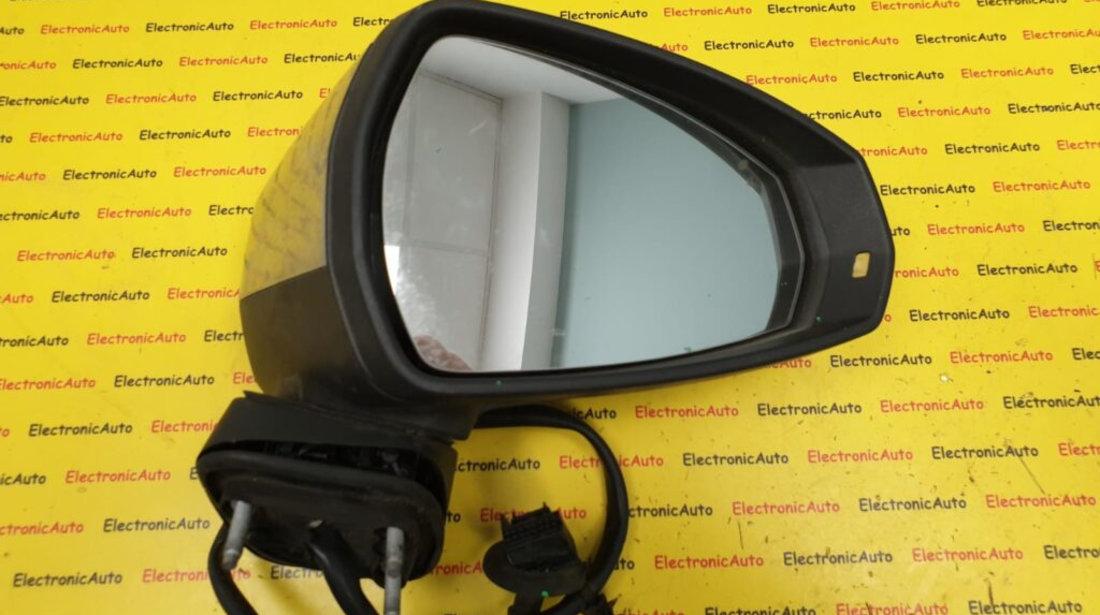 Oglinda completa Stanga Audi S3, A3 8V, pliabila electric, 021262