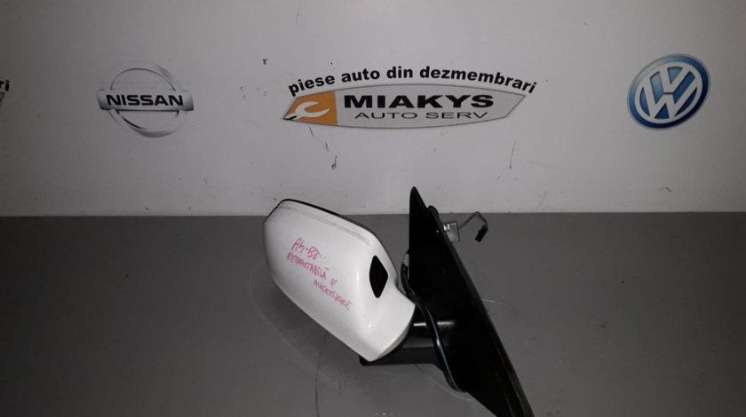 Oglinda dr Audi A4 B8 cu avertizare