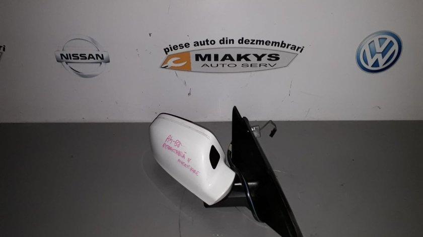 Oglinda dr Audi A4 B8 rabatabila s cu avertizare