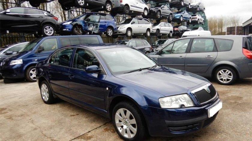 Oglinda dreapta completa Skoda Superb 2004 Sedan 1.9 TDi