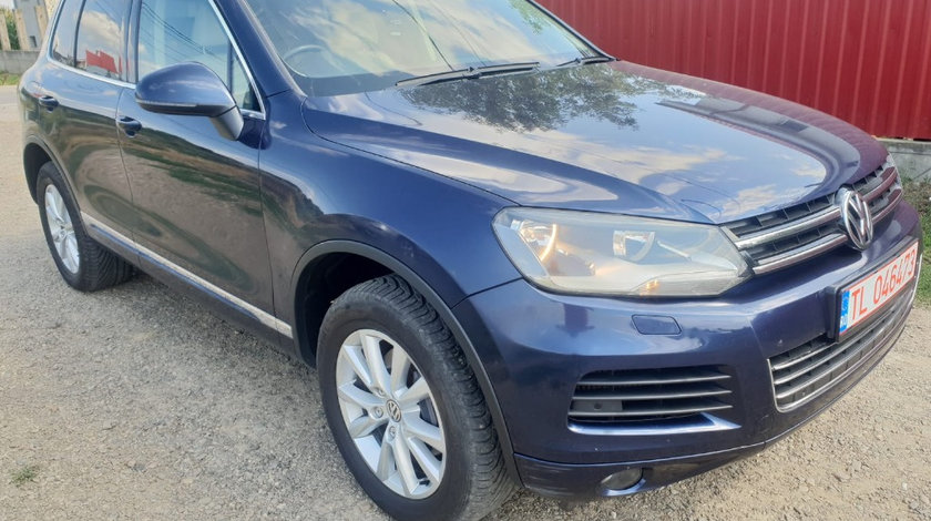 Oglinda dreapta completa Volkswagen Touareg 7P 2012 176kw 240cp casa 3.0 tdi