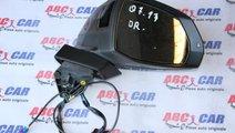 Oglinda dreapta cu camera si antena 13 fire Audi Q...