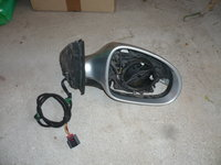 Oglinda Dreapta cu Semnalizare VW Passat B6 2005-2011 Gri Metalizat