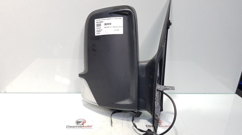 Oglinda electrica dreapta cu semnalizare, Mercedes Sprinter 3-t (906) (id:357414)