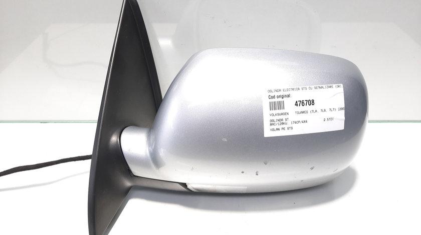 Oglinda electrica stanga cu semnalizare, Vw Touareg (7LA, 7L6) volan pe stanga (id:476708)