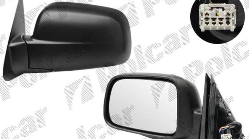 Oglinda exterioara Honda Cr v (Rd) 01.2002-10.2006 partea dreapta View Max convex carcasa neagra reglare electrica fara incalzire , plibila cu 5pini Kft Auto
