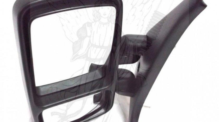 Oglinda exterioara Renault Master 2 2003-2010, Nissan Interstar 2004-2010, Opel Movano 2004-2010, reglare manuala partea Dreapta , Originala 8200163753 cu brat scurt Kft Auto