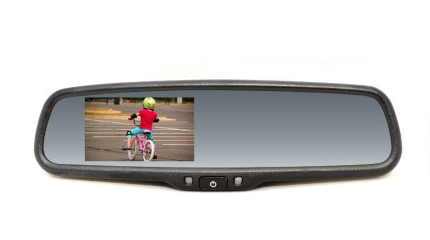 Oglinda retrovizoare interioara cu Display si sistem antiorbire pentru Skoda Octavia Fabia Rapid Volkswagen Bora Golf Passat Kft Auto