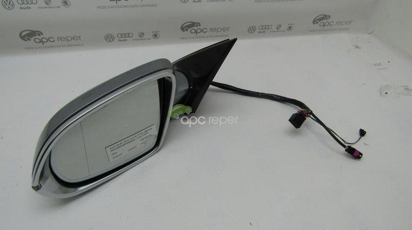 Oglinda stanga Audi S8 4H - A8 4H W12 Sidde Assist / Camera 360'' - 14 fire+ 2 + camera