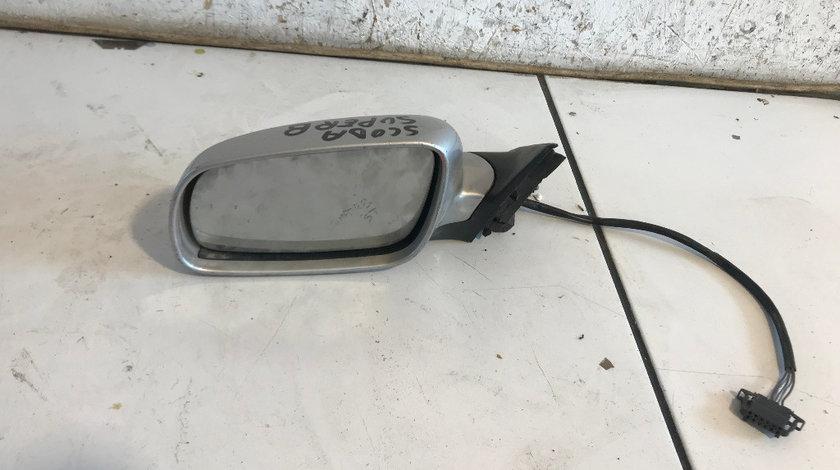 Oglinda stanga completa skoda octavia 2 2004 - 2012