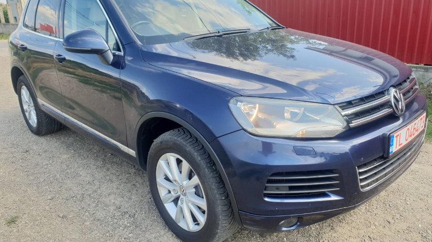 Oglinda stanga completa Volkswagen Touareg 7P 2012 176kw 240cp casa 3.0 tdi