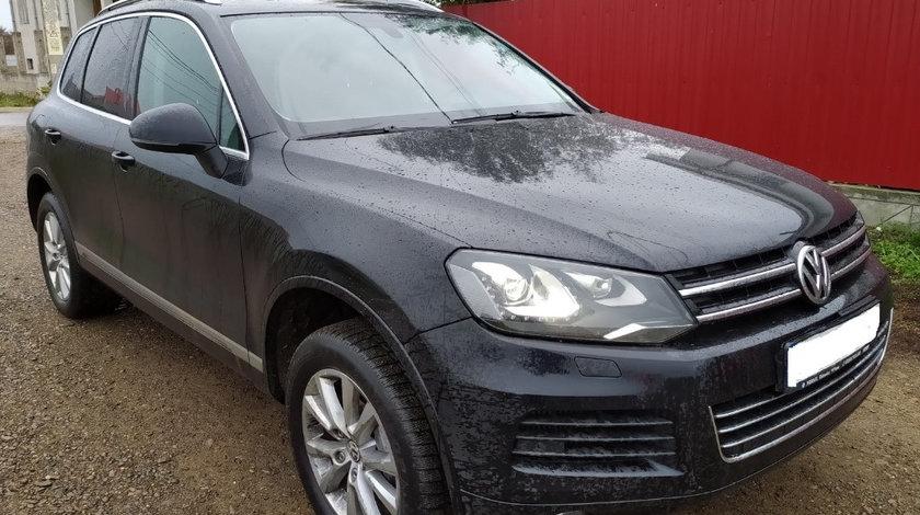 Oglinda stanga completa Volkswagen Touareg 7P 2011 176kw 240cp volan stanga 3.0 tdi CASA