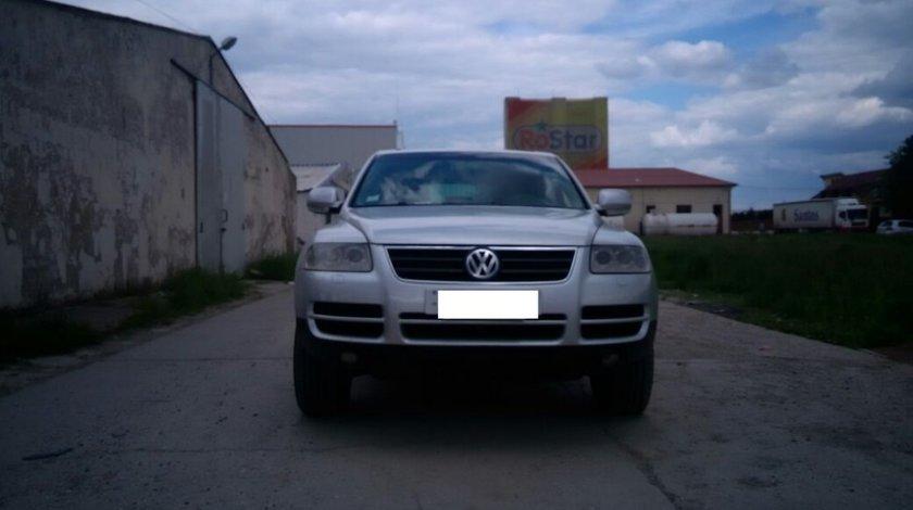 Oglinda stanga completa VW Touareg 7L 2005 SUV 2.5 tdi