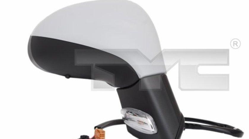 Oglinda stanga pliabil eletric Tyc pt peugeot 207