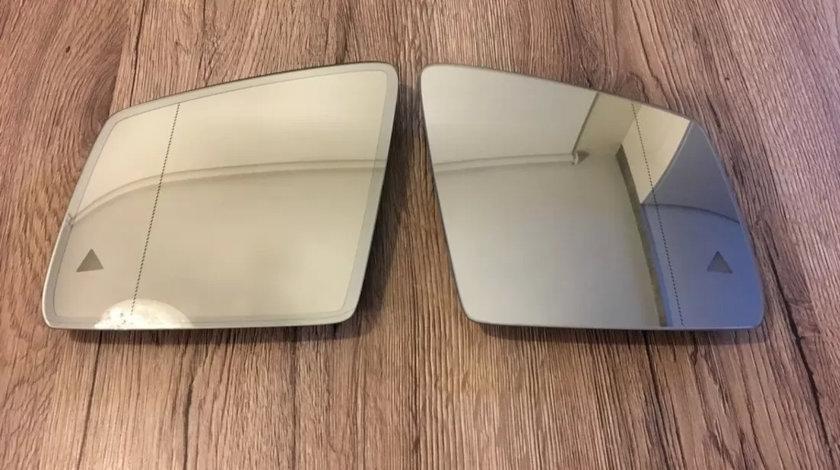 Oglinzi Mercedes GLS cu senzor unghi mort (side assist) originale